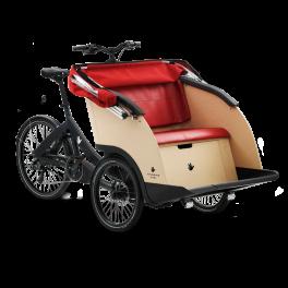 Cargobike Elettrico Taxi 3 posti Triobike