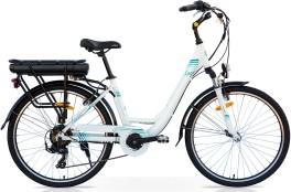 Bicicletta elettrica Venus Speedcross bianco