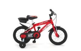 Bici Bambino Street Gang 12'' / 14'' 1V Acciaio Velomarche Rosso