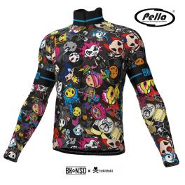 Man's long sleeve cycling jersey Tokidoki Punk - Pella