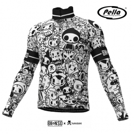 Maglia ciclismo Uomo manica lunga Tokidoki Signature - Pella