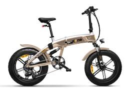 Titanium - Fat Bike Elettrica Biammortizzata Pieghevole Icross-X7