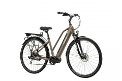 "E-bike Maratea Woman 8S 28""  Lombardo - Titanium / Black"