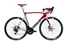"""Bici Corsa Dolomiti R 28"""" 11V Lombardo cromo/Rosso"""