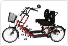 Duo PF Mobility Adults Electric Tandem Tricycle