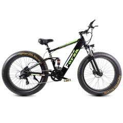 Fat Bike elettrica biammortizzata Forza 500W