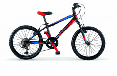 """District 6S 20"""" Young Men's Front Suspension MTB - Steel - Skilled"""