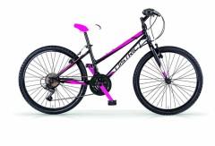 mountain bike ragazza MBM nero/fucsia