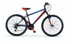 Mountain bike front 26'' uomo District MBM nero/rosso