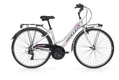 "Bici Trekking Donna Los Angeles 28"" Alluminio 21V Skilled"