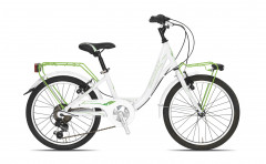 "Holly Alu 6S 20"" Young Women's City Bike - Aluminium - Tecnobike"