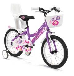 """Flower 1S 16"""" Girl's Bike - Steel - Skilled"""