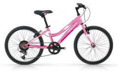 "Basic Model : Figi 6S 20"" Young Women's Bike - Pink"