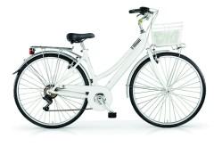 Bici passeggio Donna Central MBM Bianco