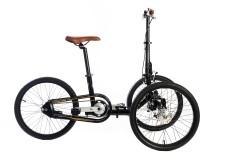 Triciclo Adulti Pieghevole Etnnic Nero