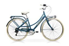 Bicicletta passeggio donna Andromeda Speedcross Bordeaux