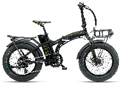 "Fat Bike Elettrica Pieghevole Asso 20"" 6V Armony"