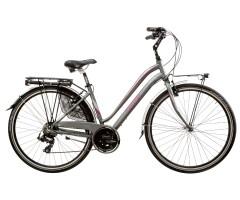 Aura  21S  - 28'' Woman's Trekking Bike - Aluminium - Cicli Casadei