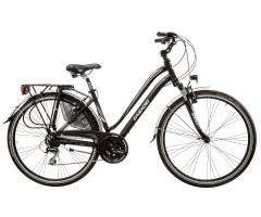 "Trekking Bike Woman Aura 28"" 24S Aluminum Cicli Casadei"