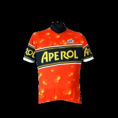 Maglia ciclismo mezze maniche Aperol Fronte