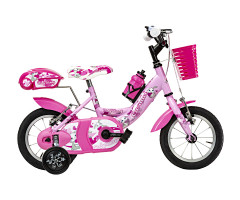 Bicicletta Bambina Baby Bunny 12'' Rosa