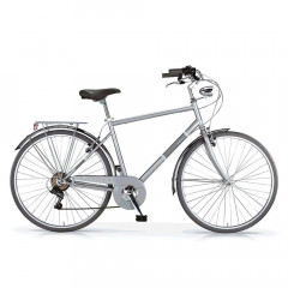 Bici Sport Uomo Silvery MBM Grigio Metallizzato