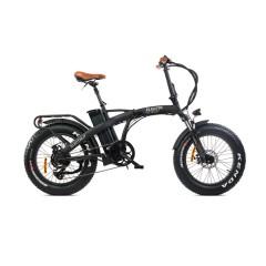 Fat Bike elettrica pieghevole Big Boy Nero