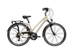 Bicycle Trekking Woman Sity2 Cicli Adriatica Oro