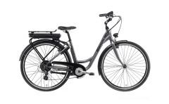 bici elettrica donna e-spillo city lady bianchi