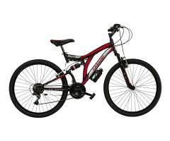 Man's Full suspention bike CL26 - Colorado - Cicli Casadei Black/Red