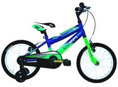 """Bici Bambino City CM2U16000 16"""" 1V Acciaio Coppi"""