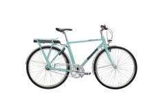 e-bike elettrica uomo spillo classic bianchi celeste,,