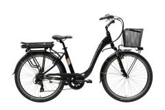 city bike elettrica e1 lady cicli adriatica nero