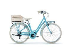 "Apostrophe Olieds 7S 28"" Women's Electric Bike - MBM Light Blue"