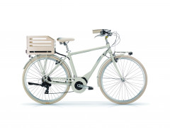 Bici Elettrica Uomo Apostrophe MBM Sabbia