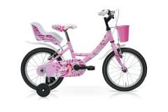 Bici Bambina Fairy 16'' 1V Acciaio Speedcross Rosa