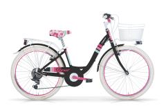 bike girl black fluer mbm