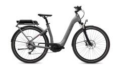 Bici elettrica trekking Donna Gotour 2 Flyer grigio