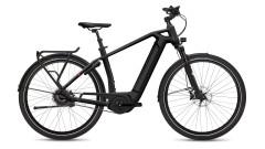 Bici elettrica trekking telaio uomo Gotour 6 nero modello 5.10