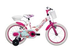 City Bike Girl Bianco
