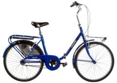 Bikescletta pieghevole 24'' argento