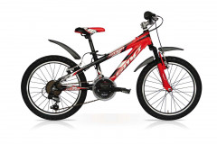 Bicicletta Storm 20 18V Nero/Rosso
