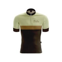 Maglia Ciclismo Vintage lana manica corta AutunnoPella