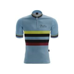 Maglia Ciclismo Vintage lana manica corta Campione Pella