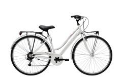 City Bike Woman Movie Lady Cicli Adriatica White