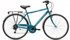 Bicicletta uomo movie man cicli adriatica blu petrolio