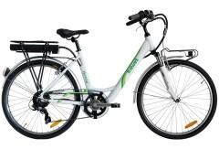 Bicicletta elettrica donna Nuvola Italwin grigio/bordeaux
