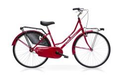 Bicicletta Donna Oldline Speedcross Rosso