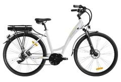 City bike elettrica Pearl Lite Italwin Bianco