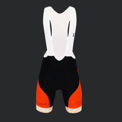 Salopette ciclismo pantaloncino Platinum ergo fronte